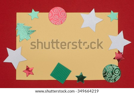 decorative Christmas  card background holiday greeting