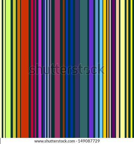 Decorative colorful stripe pattern