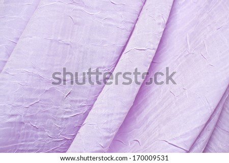 Decorative fabric. Window curtain texture