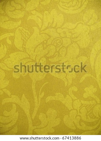 Decorative floral aging background. More of this motif & more ornaments in my port. - stock photo