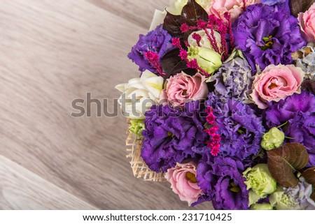 decorative flowers in a vase