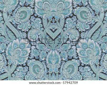 decorative fresco style texture closeup. More of this motif & more ornaments in my port. - stock photo