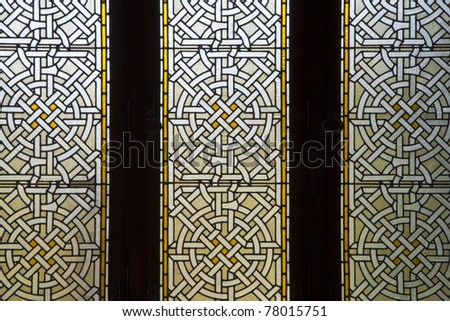 decorative glass background. See my portfolio for more - stock photo