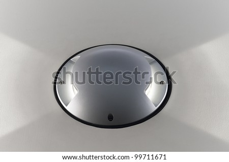 Decorative lamp for wall or floor - stock photo