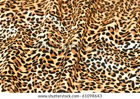 decorative leopard skin textured background - stock photo