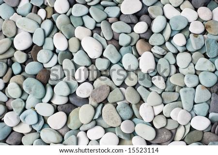 decorative pebbles - stock photo