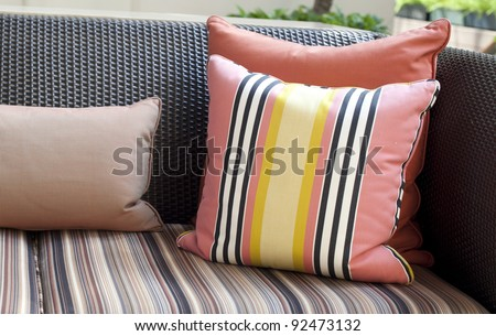 Decorative pillow - stock photo