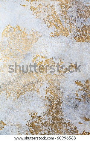 decorative plaster - stock photo