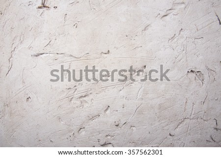 Decorative plaster effect on wall.Background