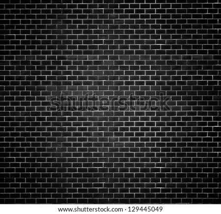 Decorative red brick wall texture in horizontal view - stock photo