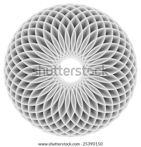 Decorative sphere - stock photo