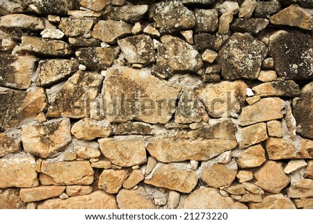Decorative stone and rock wall to be used as backgrounds