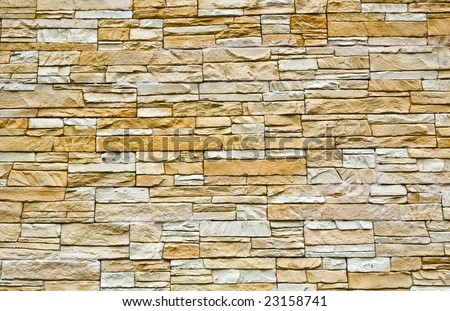 Decorative Stone Wall Texture Stock Photo 23158741 - Shutterstock