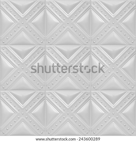 Decorative tile with volume drawing from texture of skin, skin of gray color, nobody. - stock photo