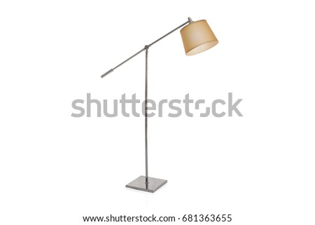 Lampshade stock images royalty free images vectors shutterstock decorative tripos standing light floor lamp lampshade isolated on white mozeypictures Image collections