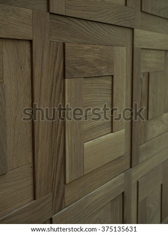 Decorative wall panels texture