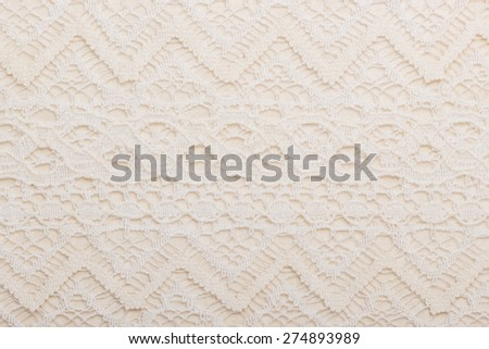 decorative white lace background for wedding, invitation or greeting card. - stock photo