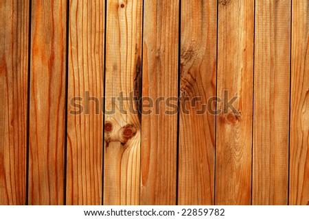 Decorative wooden door texture - stock photo
