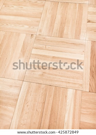 Decorative wooden floor panels as a background