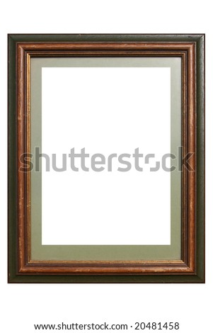 Decorative Wooden Frame - stock photo
