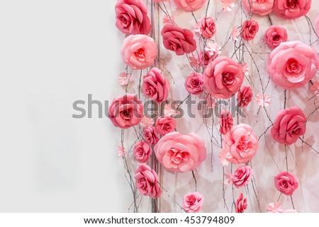 Decoratory flowers - stock photo