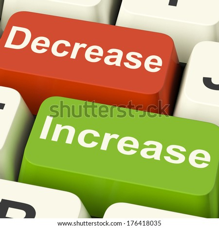 Decrease and Increase Keys