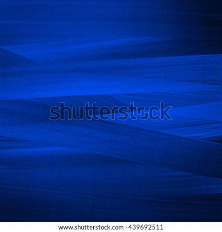 Deep blue background with broad brush strokes. - stock photo