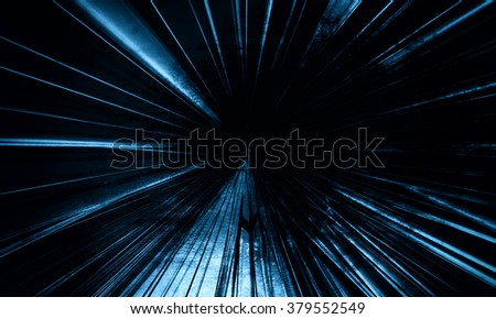 Deep  Blue Technology background