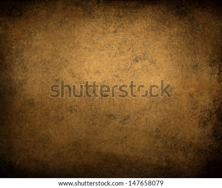 deep brown background, abstract black frame or border, vintage grunge background texture, distressed old brown paper, solid color for web template background or brochure ad layout design, brown canvas - stock photo