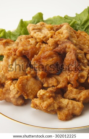 deep-fried chicken (Japanese style)