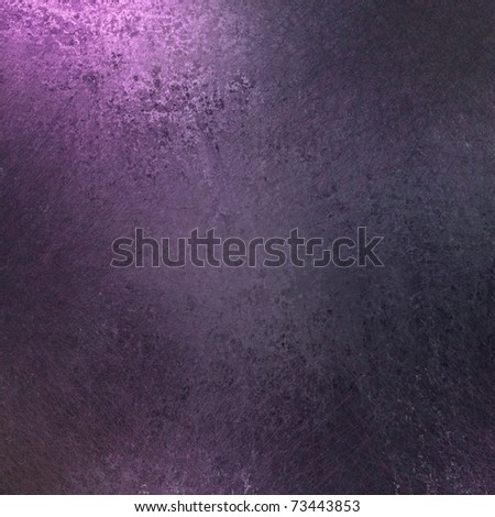 deep purple background color with old worn grunge texture and soft lighting with copy space - stock photo