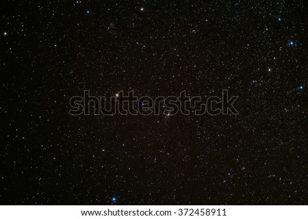 Deep sky with Andromeda and The Triangle Galaxy