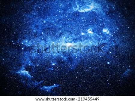 deep space background Elements of this image furnished by NASA - stock photo