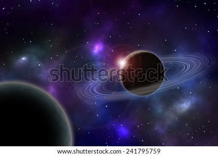 Deep space image.