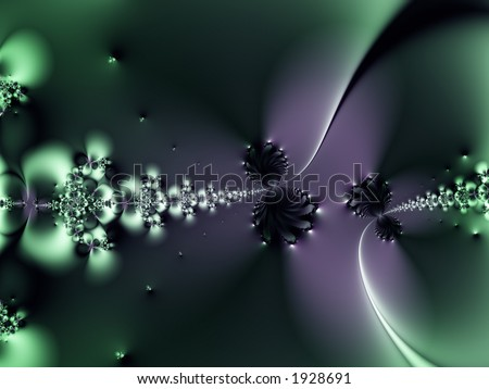 Deep space image of time and space coming together and forming a warp - stock photo