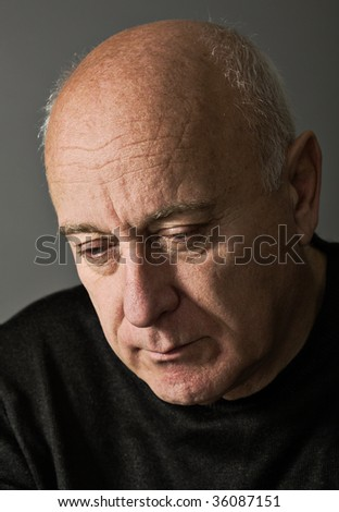 Deep thought - stock photo