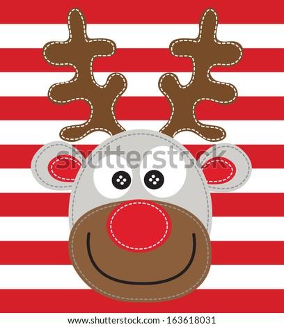 deer vector  - stock photo