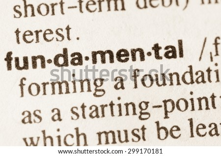 Amazing Definition Of Word Fundamental In Dictionary