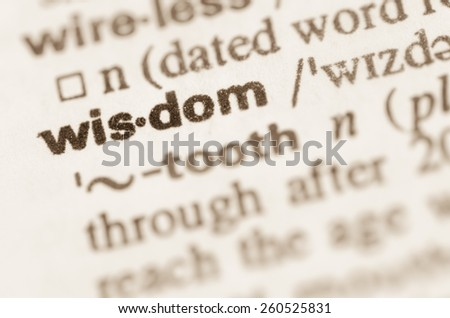 Definition of word in dictionary - stock photo