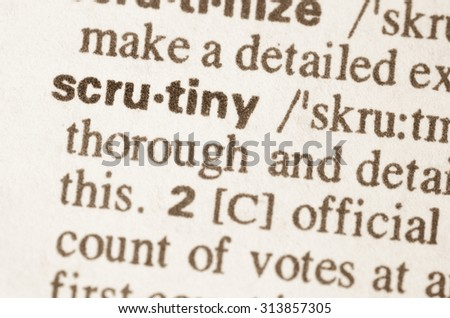 macquarie dictionary defintion of security screens