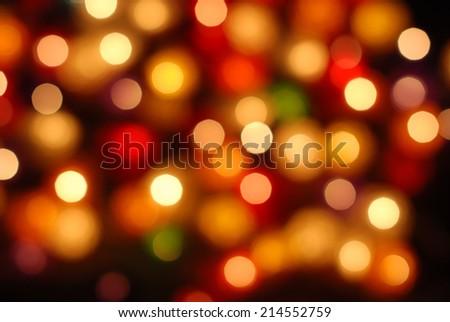 defocus bokeh light background. - stock photo