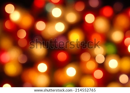 defocus bokeh light background. - stock photo
