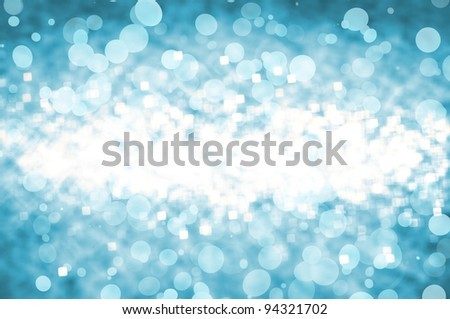 defocused abstract background of light blue colors - stock photo