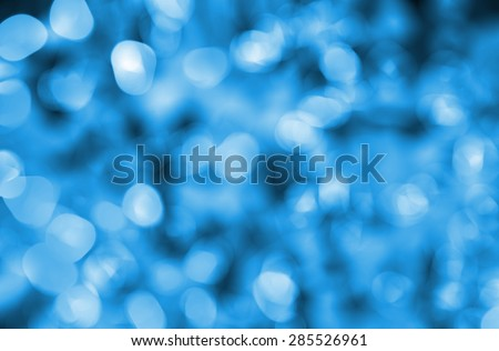 Defocused abstract lights christmas background - stock photo