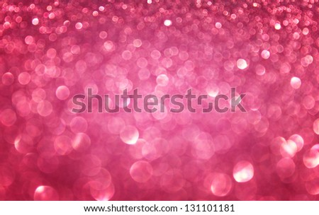 Defocused abstract pink lights background - stock photo