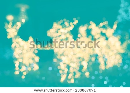 defocused bokeh lights on soft colors tone