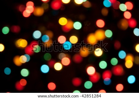 Defocused light color abstract pattern background