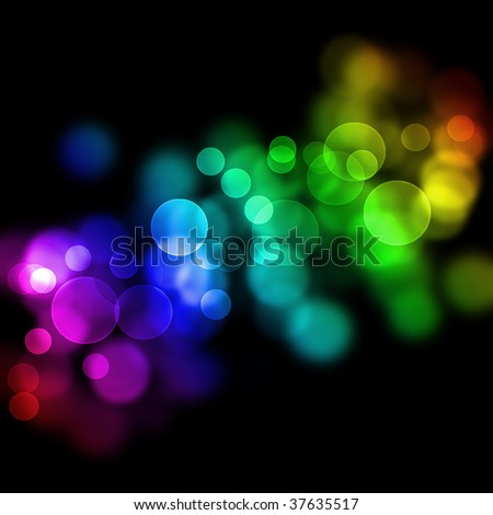 Defocused lights Abstract Background.