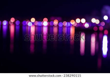 defocused lights background. abstract bokeh lights . - stock photo