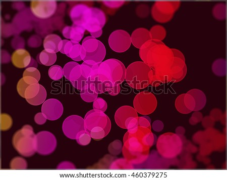 defocused lights background image for abstract use